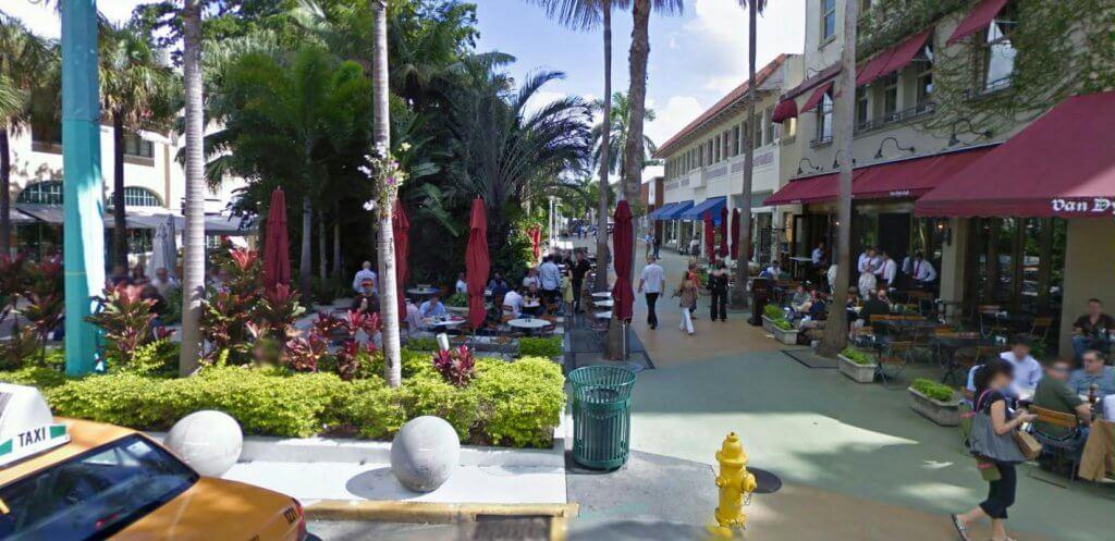 Como é a Lincoln Road em Miami