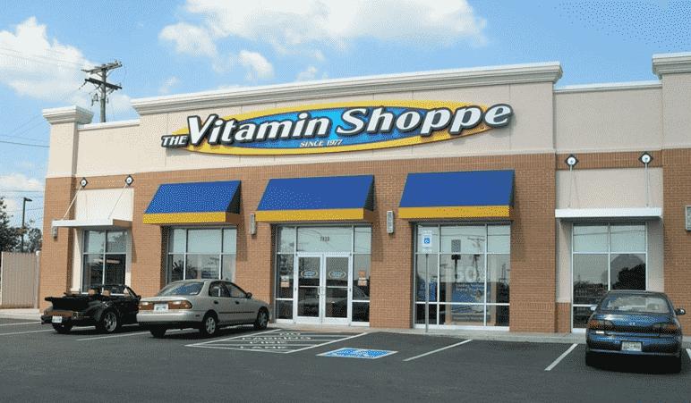 Loja de suplementos alimentares Vitamin Shoppe