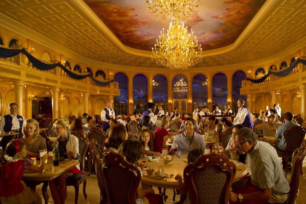 Restaurante Be Our Guest no Magic Kingdom
