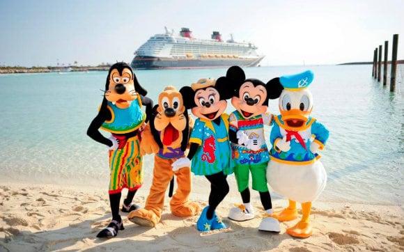 Quais são os cruzeiros Disney em Miami e Orlando