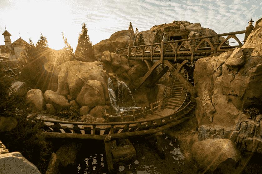 Montanha-russa dos 7 anões no Magic Kingdom