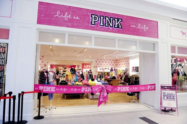 A marca Pink da Victoria's Secret