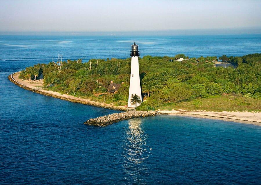 Parque natural Bill Baggs em Key Biscayne