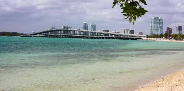 Como é o Crandon Park em Miami