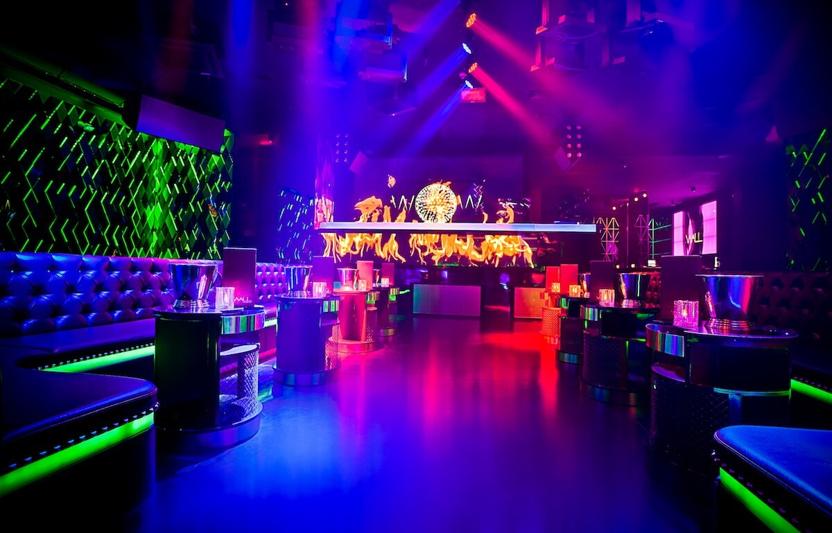 Balada Wall Lounge Nightclub em Miami