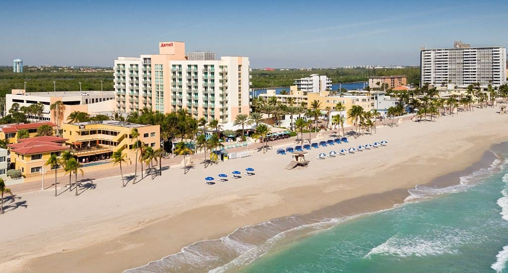 Hotel na Praia de Miami: Hollywood Beach