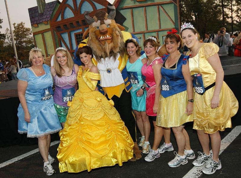 Como é meia maratona das princesas na Disney em Orlando