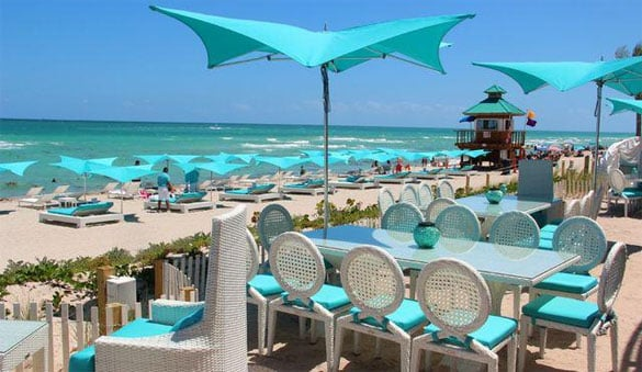 Restaurante Bella Beach Club em Miami