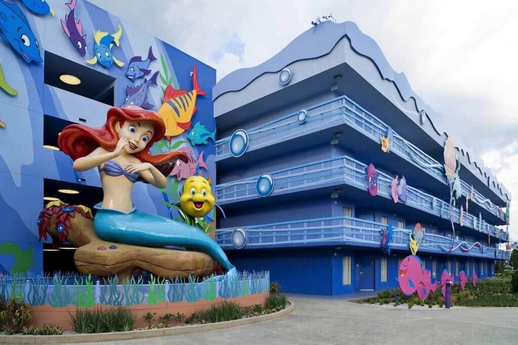 Conheça o hotel Art Of Animation da Disney em Orlando