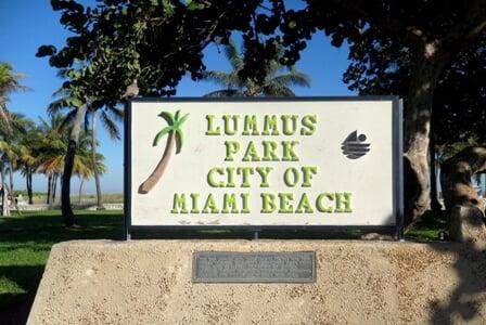 Lummus Park   Praia e parque em Miami Beach