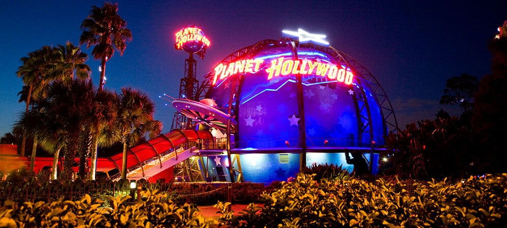 Downtown Disney Planet Hollywood