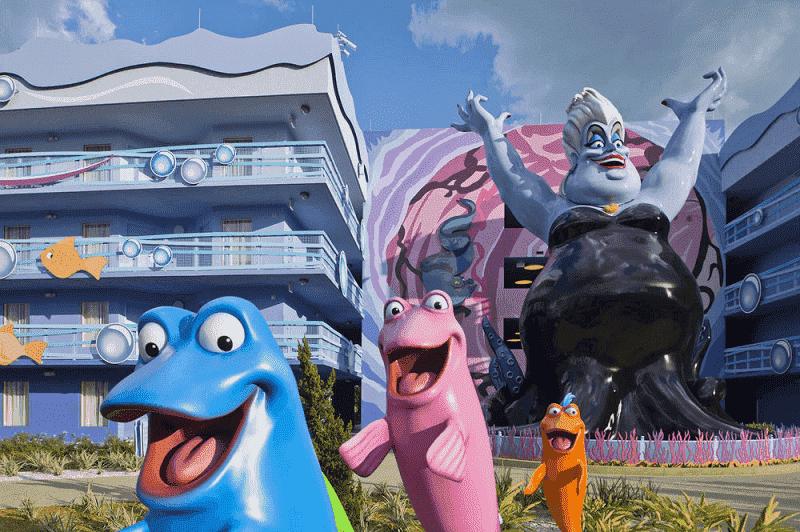 Informações do hotel Disney's Art Of Animation Resort