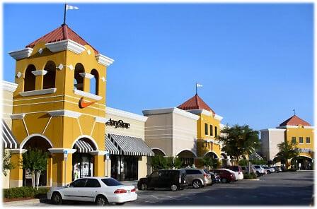 Compras no Outlet The Lake Buena Vista em Orlando