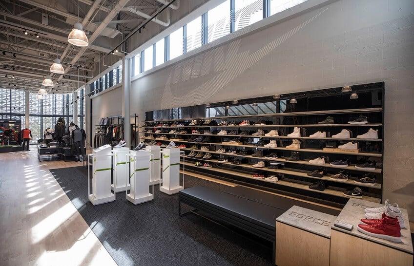 Como são as lojas da Nike em Orlando e Miami