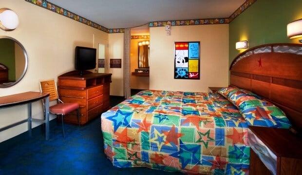 Estrutura do hotel Disney's All-Star Movies Resort