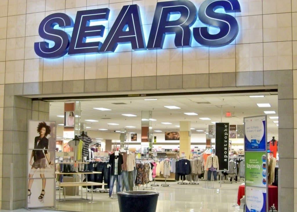 Loja de departamento Sears em Miami e Orlando