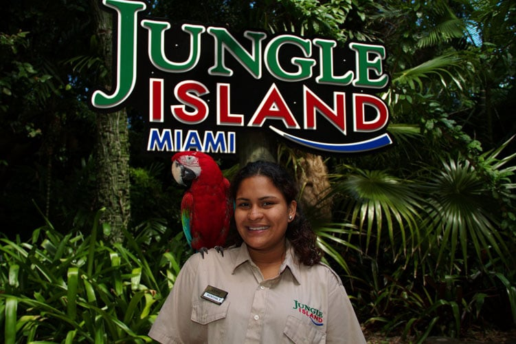 Jungle Island em Miami