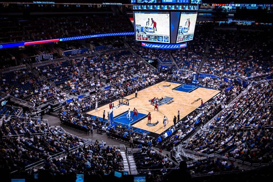 Ingressos da NBA em Orlando