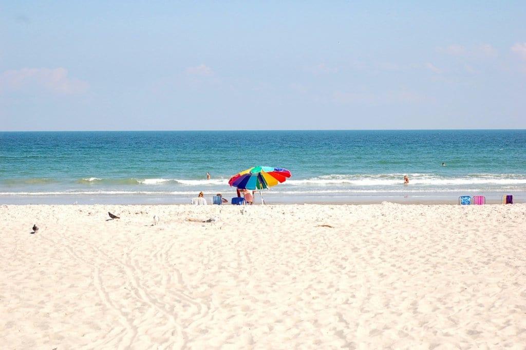 Detalhes de Cocoa Beach na Flórida