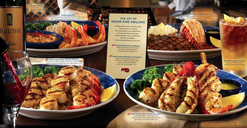Restaurante Red Lobster em Miami e Orlando