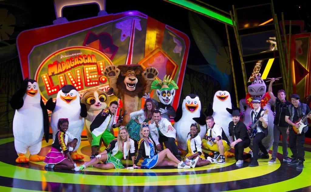 Conheça o show do Madagascar no parque Busch Gardens em Orlando