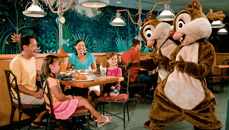 Restaurante The Garden Grill da Disney