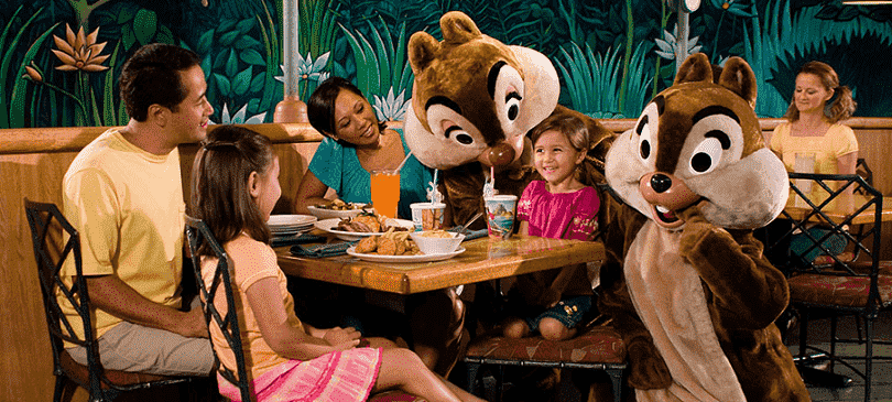 Restaurante The Garden Grill no Parque Epcot na Disney
