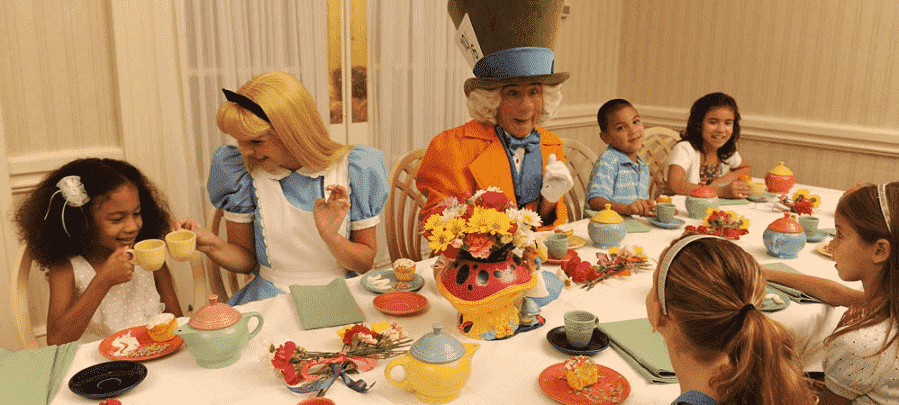 Wonderland Tea Party na Disney em Orlando