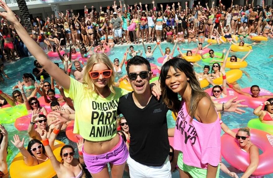 Pool Party em Miami Beach   As melhores festas