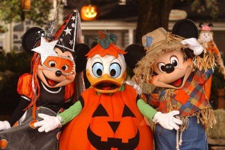 Festa Disney Mickey's Not So Scary Halloween em Orlando