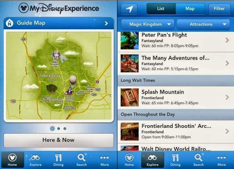 Aplicativo da Disney Orlando: My Disney Experience App