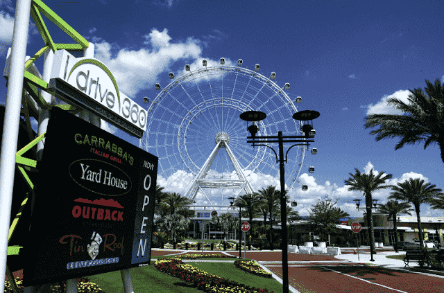 iDrive 360 International Drive em Orlando