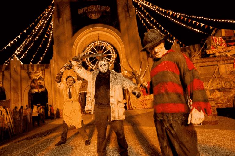 Halloween no Universal Studios em Orlando