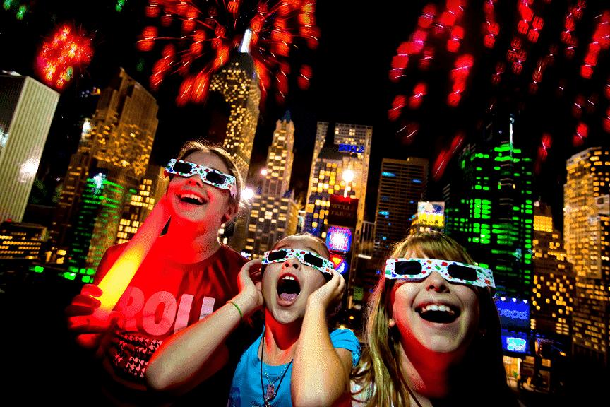Ano-Novo no parque Legoland