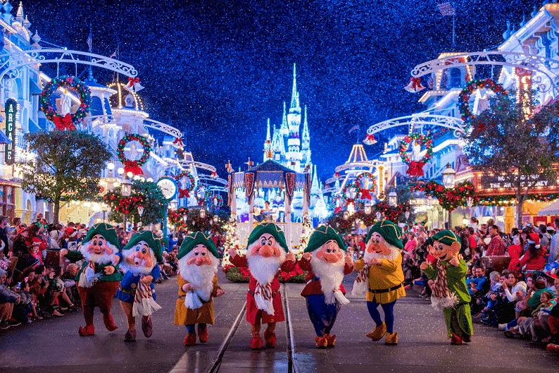 Comemorações de Natal no Magic Kingdom