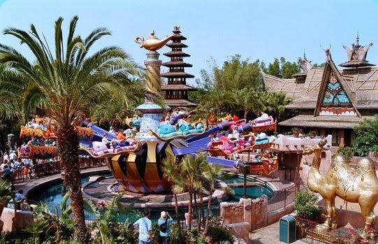 Magic Kingdom Orlando Aladin