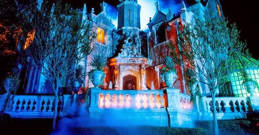 Magic Kingdom Parque Mansão Assombrada
