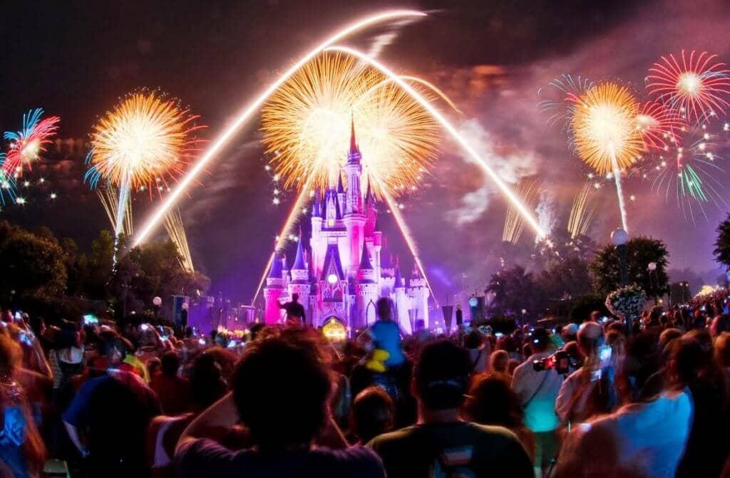 Magic Kingdom Fogos Disney