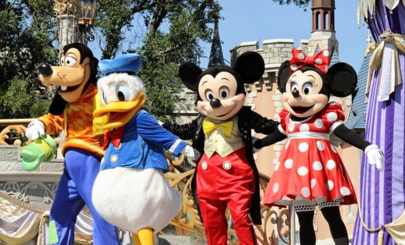Parque Magic Kingdom Disney Mickey
