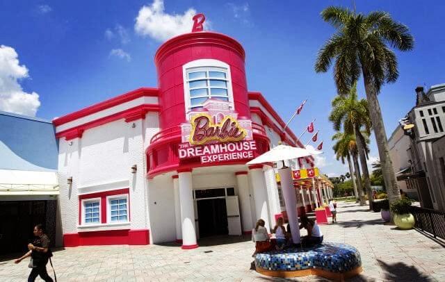 Casa da Barbie em Miami