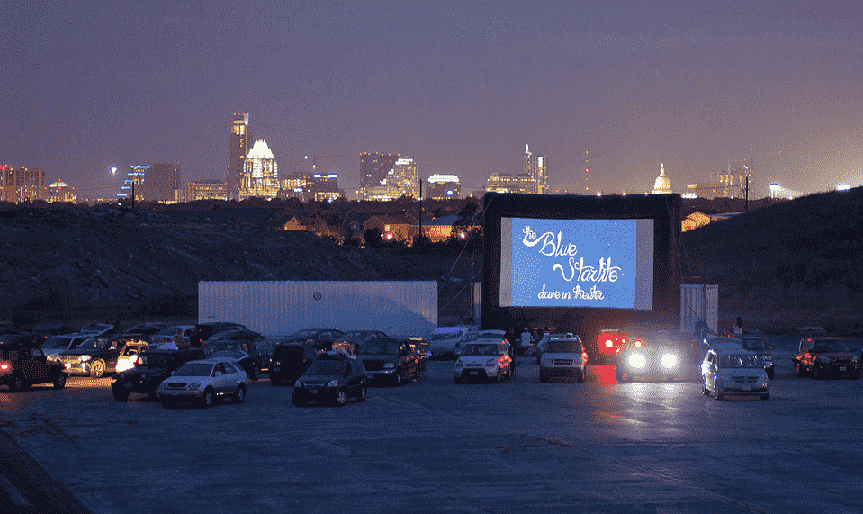 Cinema Drive-in em Miami