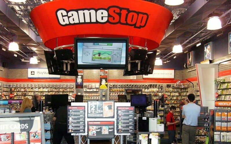 jogos de vídeo game nos EUA | Game Stop