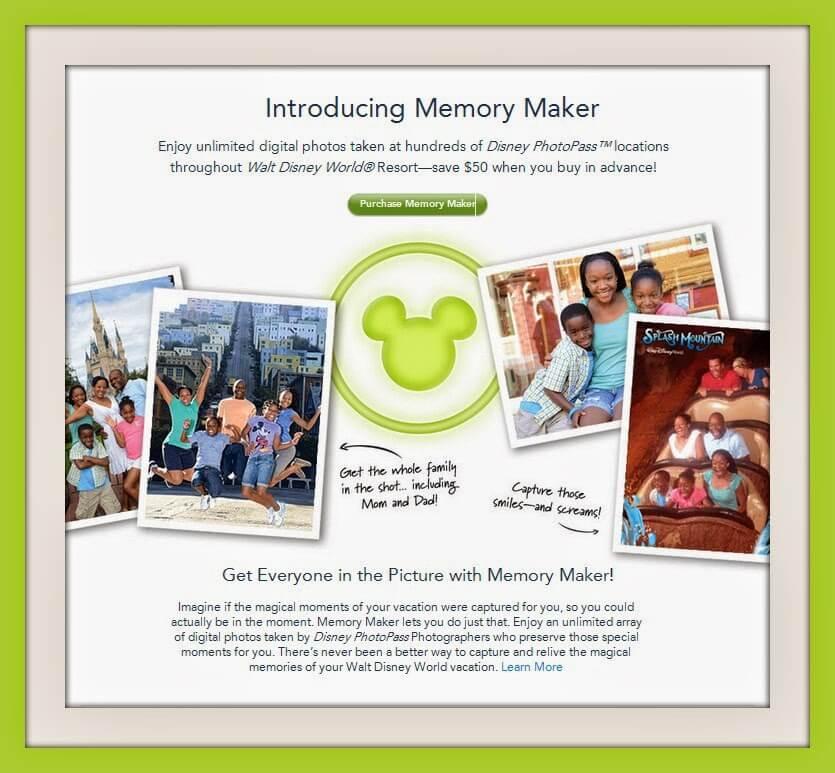 Memory Maker na Disney