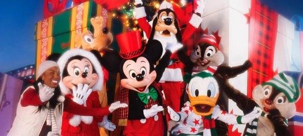 Natal na Disney em Orlando - Personagens