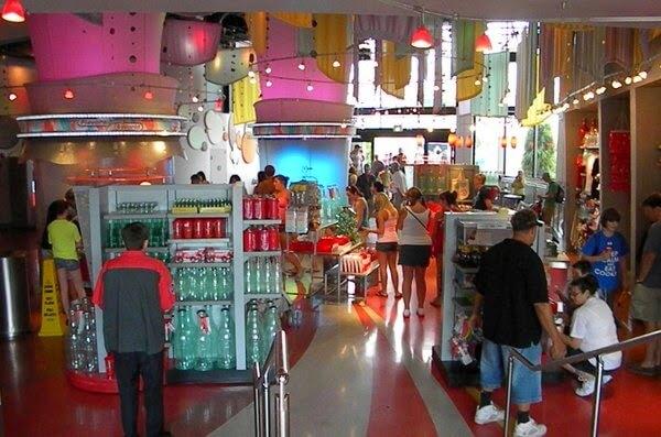 A loja Club Cool no Epcot em Orlando