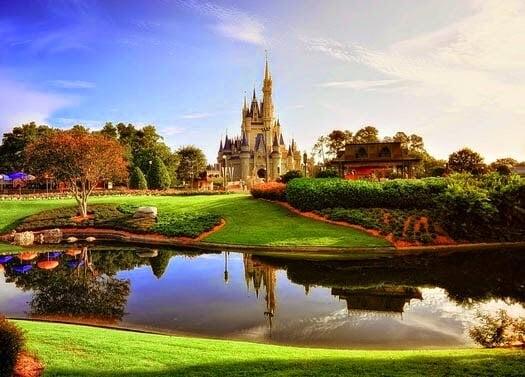 Parque Magic Kingdom Disney em Orlando