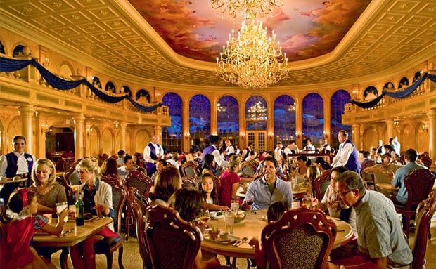 Dining Plan da Disney - Restaurante da Bela e a Fera