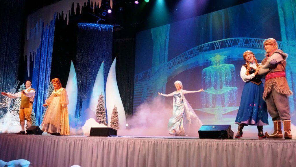 Show do Frozen no Disney Hollywood Studios em Orlando