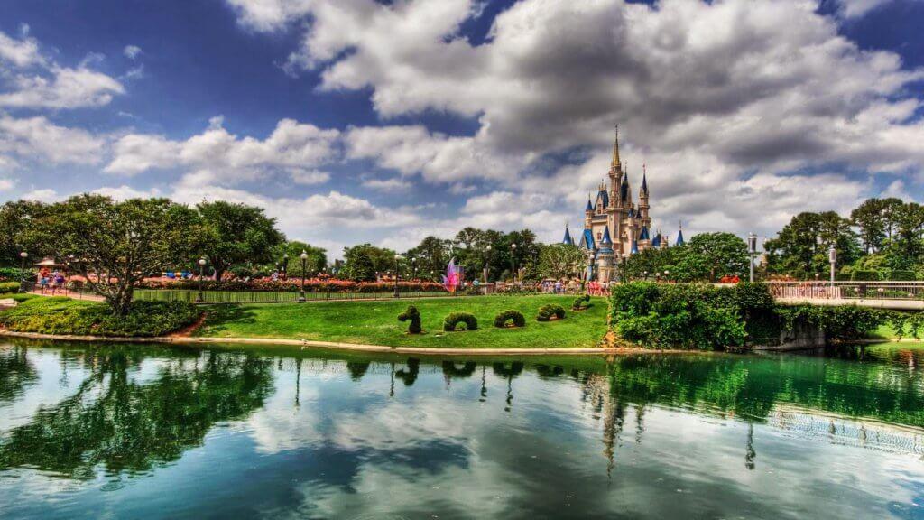 Papel de parede da Disney e Magic Kingdom em Orlando