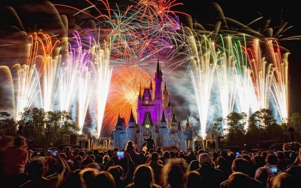 Papel de parede do Parque Disney Magic Kingdom Orlando